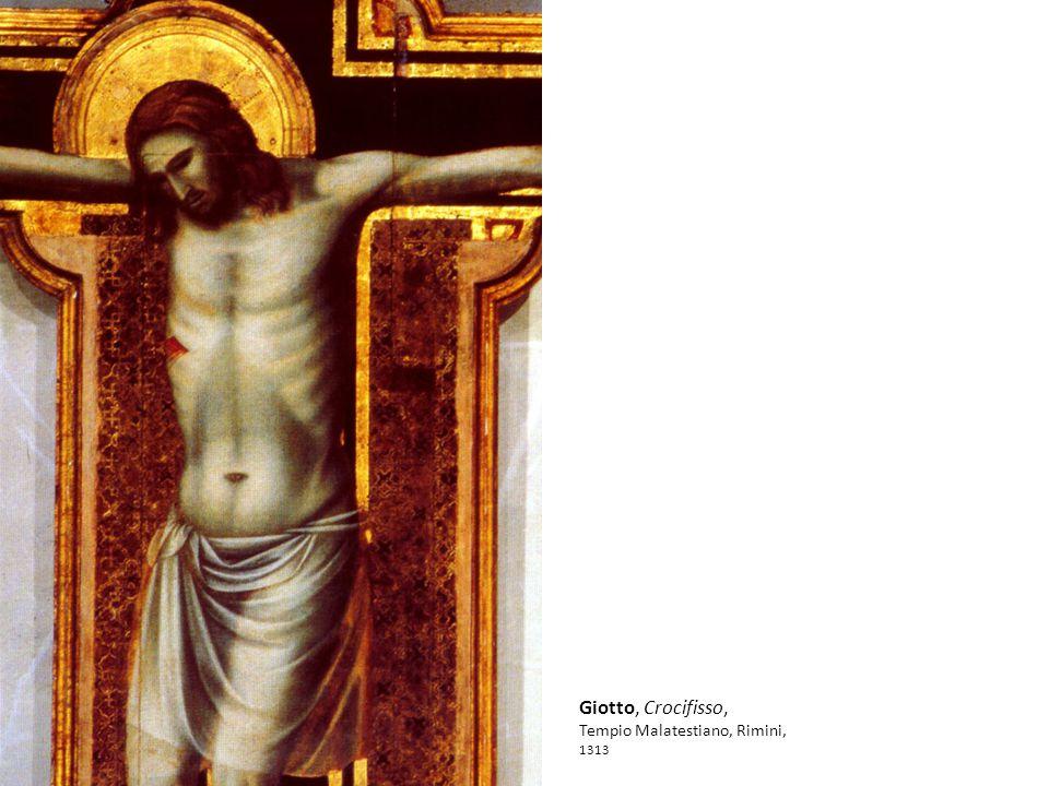 Giotto, Crocifisso, Tempio Malatestiano, Rimini, 1313