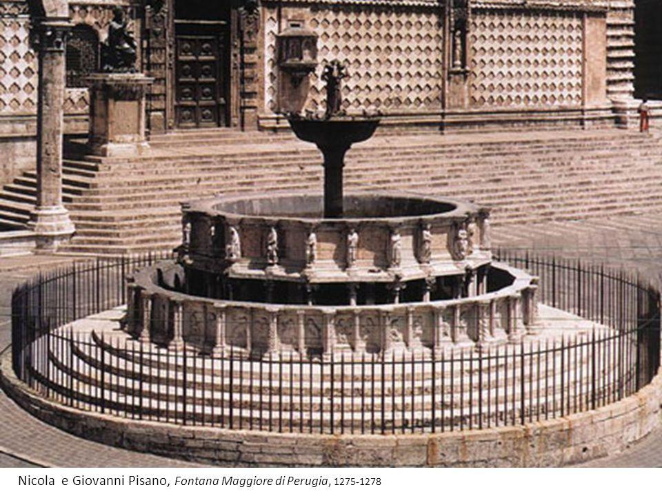 Nicola e Giovanni Pisano, Fontana Maggiore di Perugia, 1275-1278