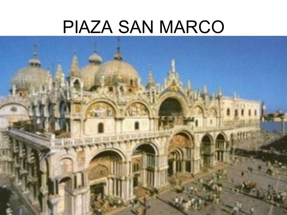 PIAZA SAN MARCO