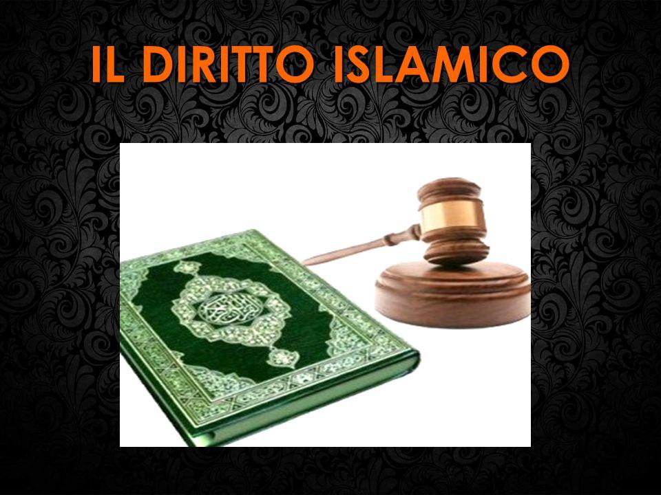 Cos'è il diritto islamico.Il diritto islamico è il terzo grande sistema giuridico mondiale.