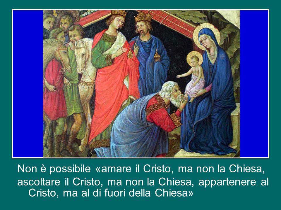 e non si può capire la salvezza operata da Gesù senza considerare la maternità della Chiesa.