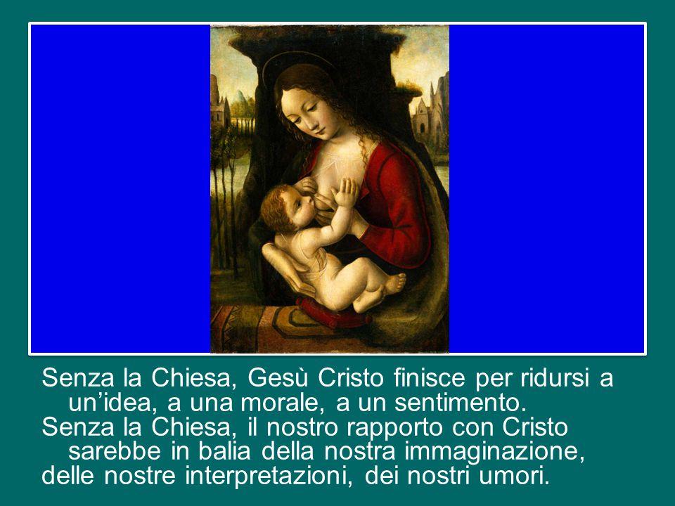 Questa azione e missione della Chiesa esprime la sua maternità.