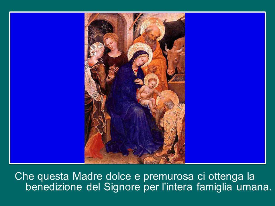 La sua testimonianza discreta e materna cammina con la Chiesa fin dalle origini.
