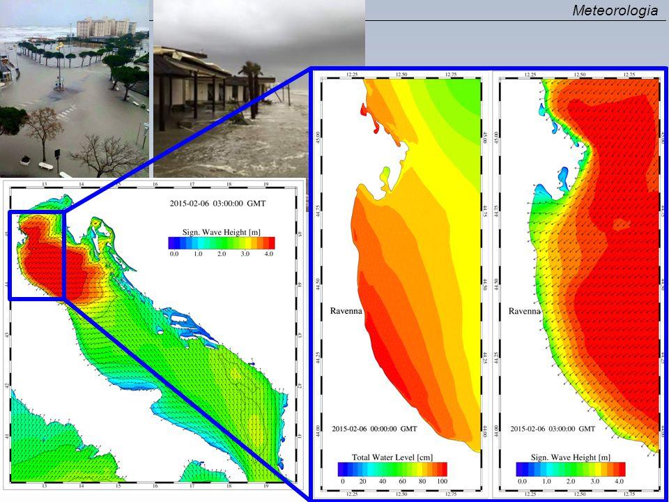 OCEAN ROMS model WAVES SWAN model Bottom stress SEDIMENTS (BIOLOGY…) UV wind, P atm, RH, T air, cloud, rain, evap, SWrad, LWrad, LH, HFX, UV stress UV wind H wave, L wave, D wave, Tp surf, Tm bott, Q b, Diss, UV bot UV s, h, Zeta, Z 0 ATMOSPHERE - ATMOSPHERE - WRF model Bottom stress Currents Meteorologia COAWST A Coupled-Ocean-Atmosphere-Wave- Sediment Transport Modeling System