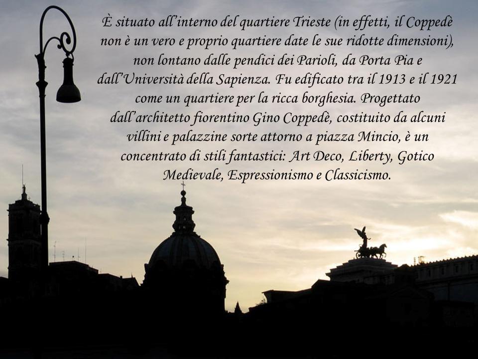 Roma sconosciuta Il Quartiere Coppedè Roma sconosciuta Il Quartiere Coppedè