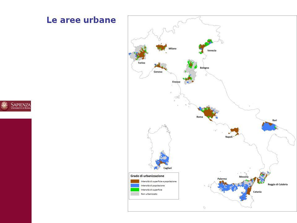 10 Le aree urbane