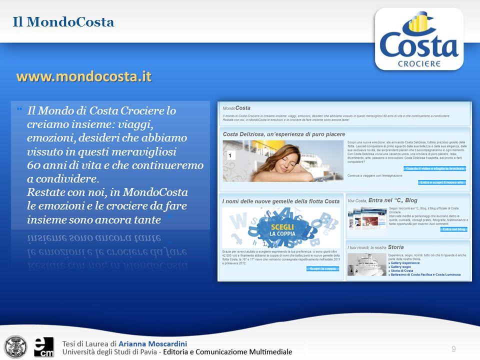 9 Il MondoCosta www.mondocosta.it