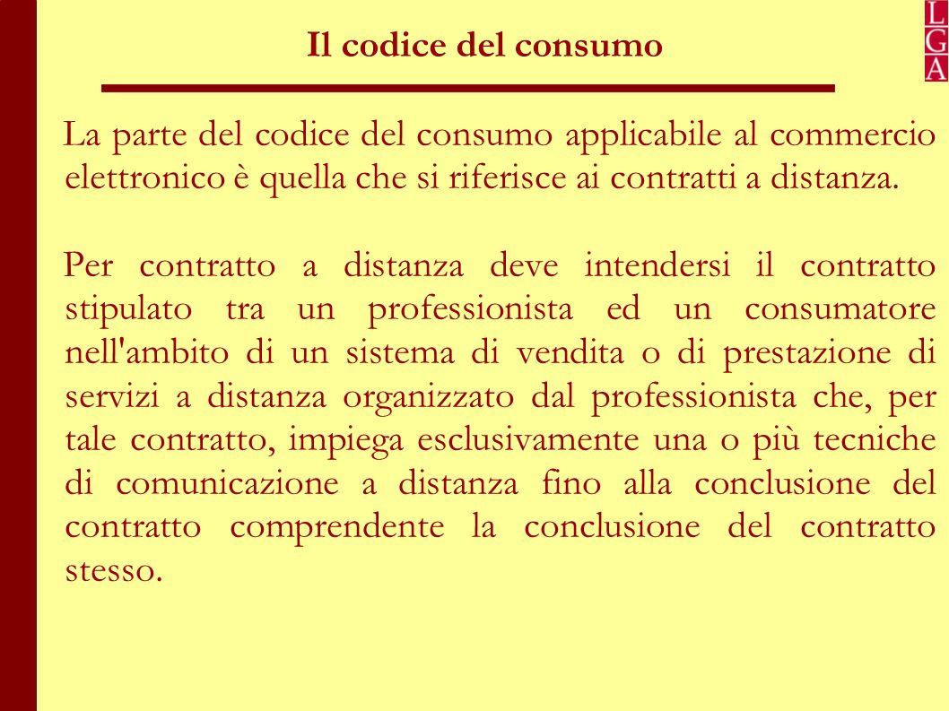 Il codice del consumo: obblighi informativi prenegoziali Al fine di tutelare il consumatore, il legislatore impone al venditore una serie di obblighi informativi prenegoziali: 1.