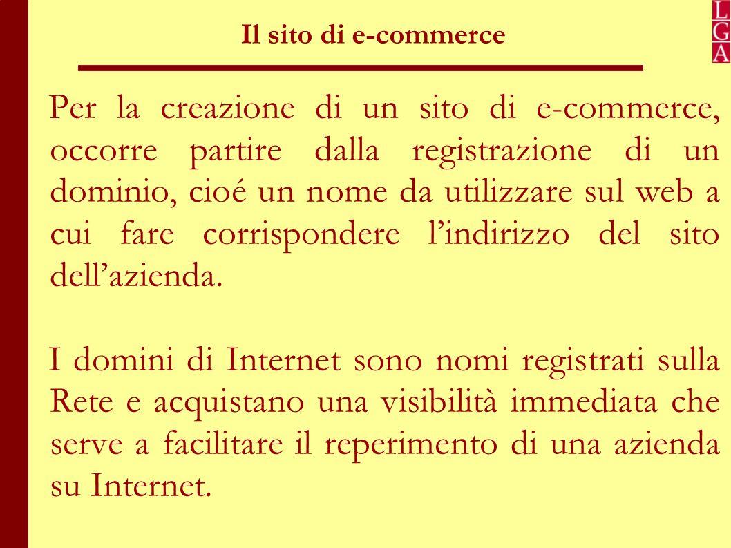 Struttura del sito Normalmente in tutti i siti di ecommerce dovrebbero essere presenti almeno queste 3 sezioni principali: 1.