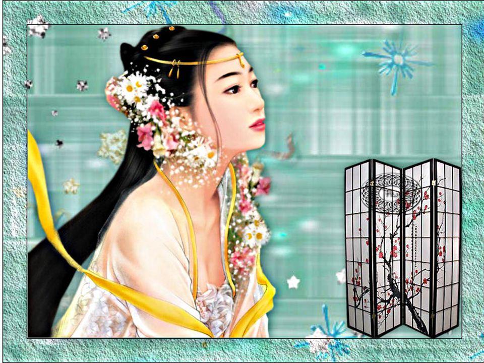 Per trenta leghe si stendono le rive dello specchio. Nel mese di giugno la bella Xi Shi viene a cogliere i boccioli di loto divenuti turgidi fiori, me