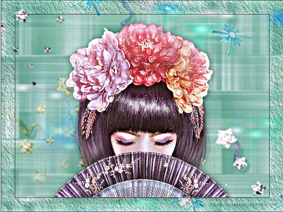 Il fiore più pregiato, la donna più splendida, fanno sì, o sovrano, che il sorriso non abbandoni mai il tuo volto.