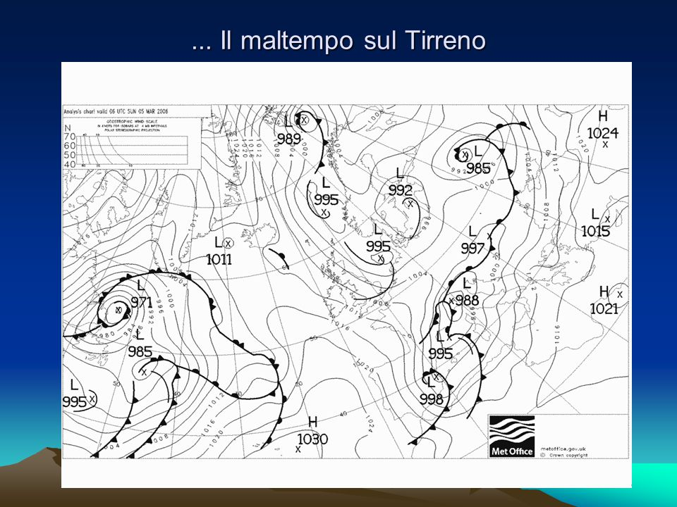 .. B Il respiro caldo del Mediterraneo...solo pioggia sino a quote elevate!!!