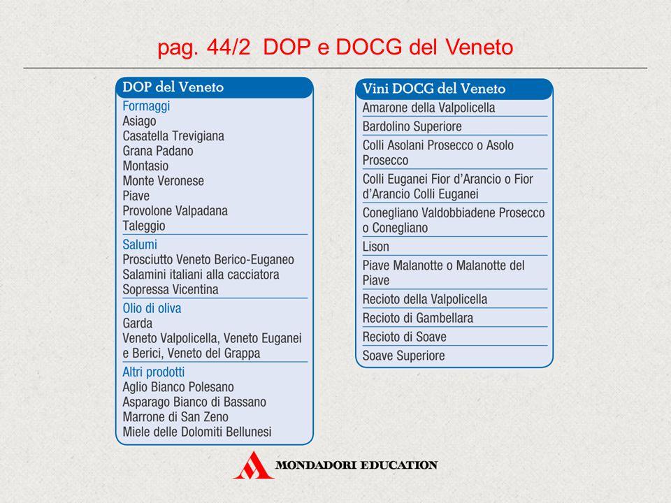 pag. 44/2 DOP e DOCG del Veneto