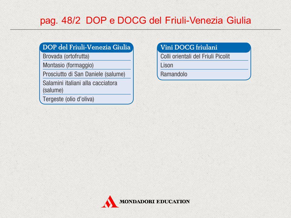 pag. 48/2 DOP e DOCG del Friuli-Venezia Giulia