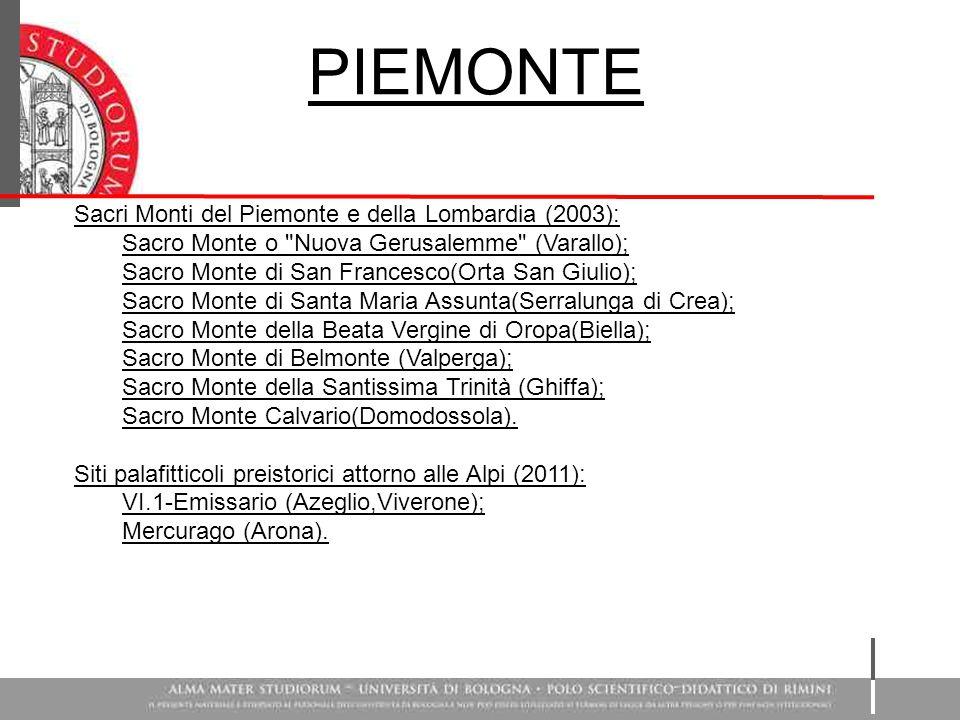 Sacri Monti del Piemonte e della Lombardia (2003): Sacro Monte o