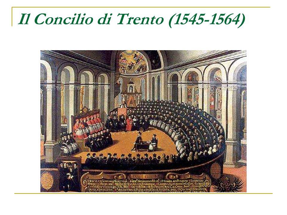 Il Concilio di Trento (1545-1564)