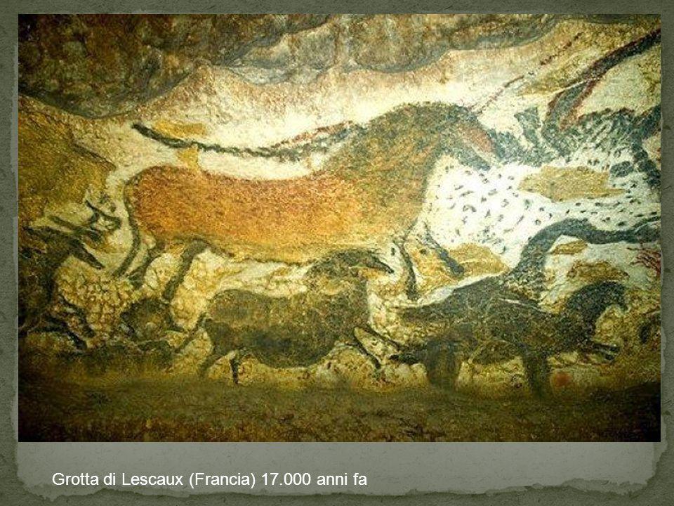 Grotta di Lescaux (Francia) 17.000 anni fa