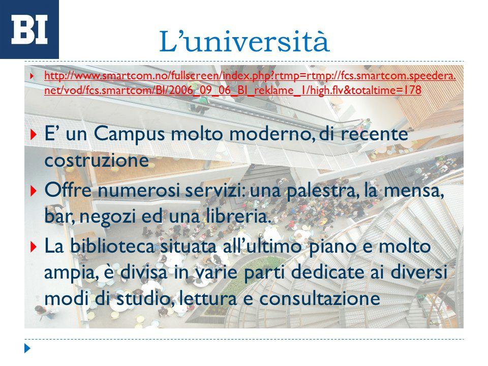 Servizi offerti dall' università L'ufficio erasmus segue da vicino tutti gli studenti aiutandoli a svolgere le pratiche burocratiche e rispettare le deadlines.(es.