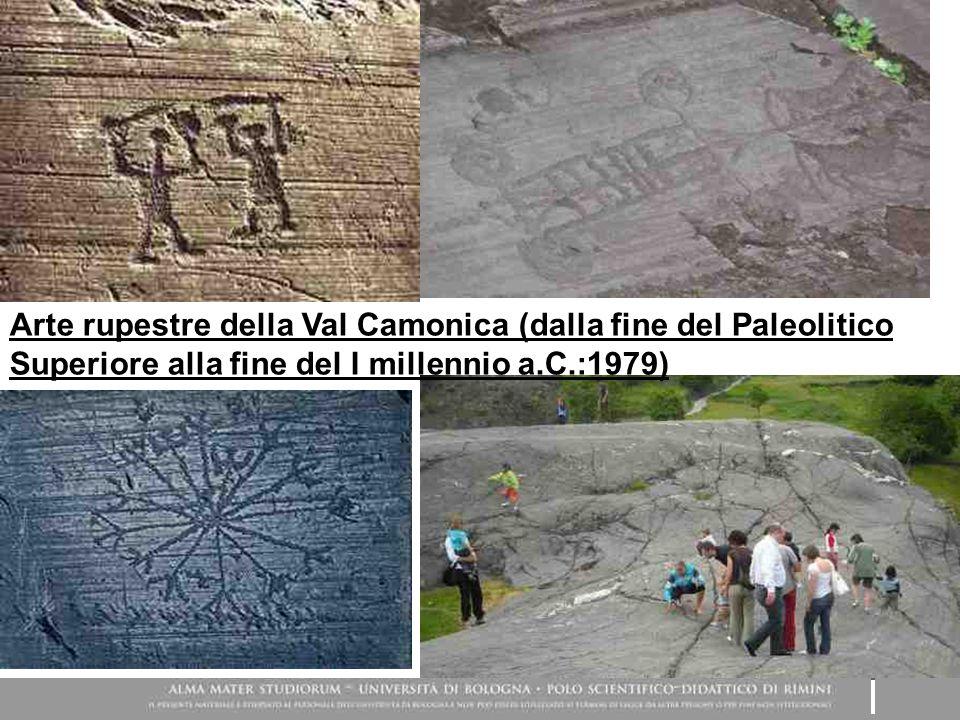 Arte rupestre della Val Camonica (dalla fine del Paleolitico Superiore alla fine del I millennio a.C.:1979)