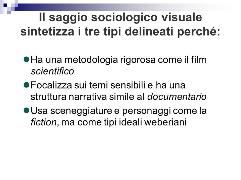 Ha una metodologia rigorosa come il film scientifico Focalizza sui temi sensibili e ha una struttura narrativa simile al documentario Usa sceneggiatur