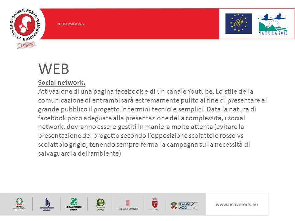 WEB Social network. Attivazione di una pagina facebook e di un canale Youtube.