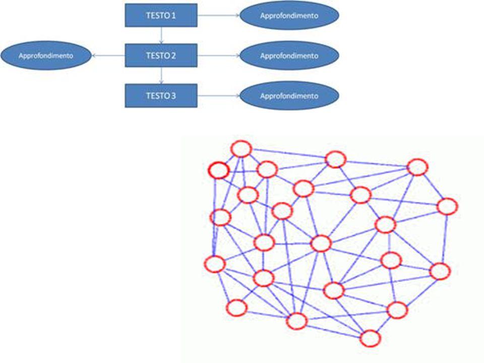 Nella prima i contenuti rispettano una struttura sequenziale; anche se è possibile inserire dei link, come rimandi ad approfondimenti, però il contenuto principale è rigidamente sequenziale