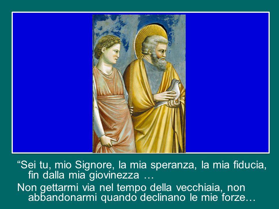 """E ritorniamo allora a questa """"icona"""" piena di gioia e di speranza, piena di fede, piena di carità. Possiamo pensare che la Vergine Maria, stando a cas"""