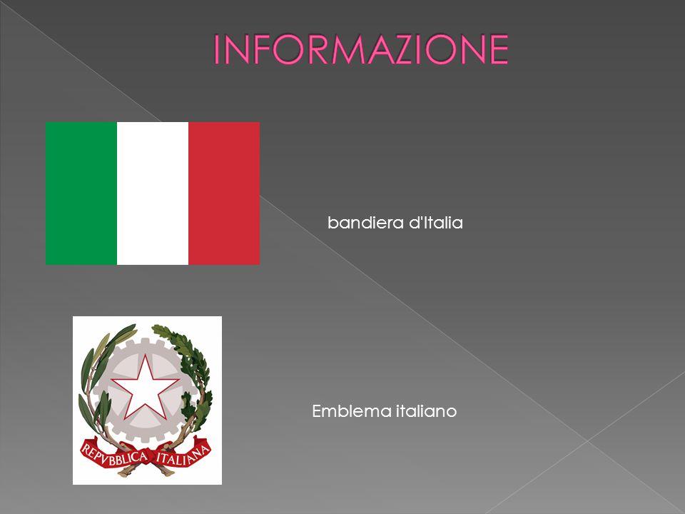 bandiera d'Italia Emblema italiano