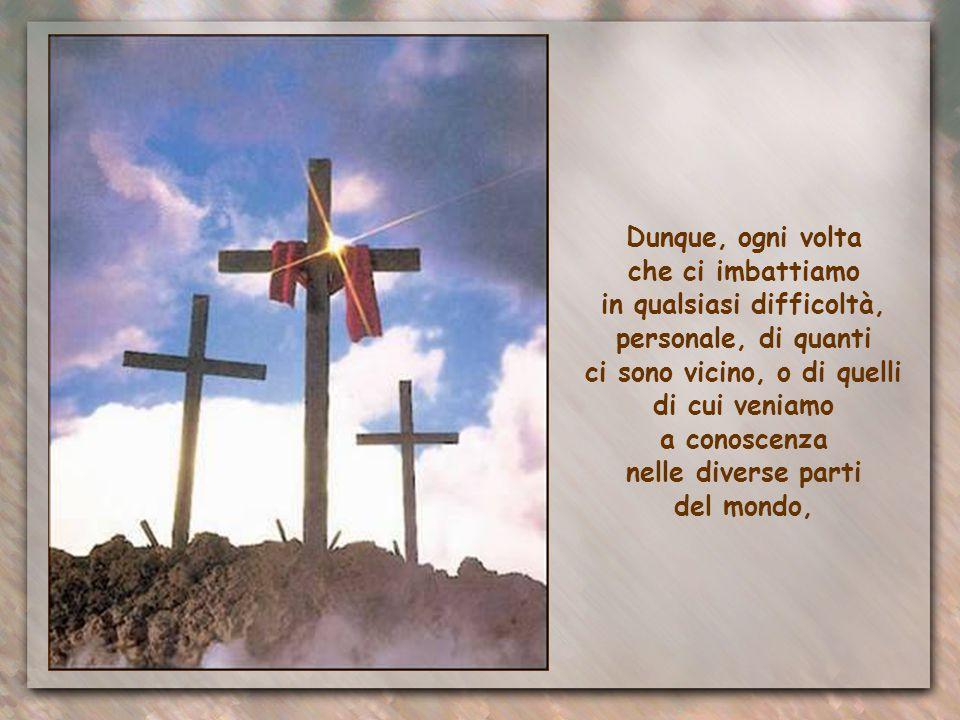 La speranza del Cielo e la fede nella risurrezione sono invece un impulso potente ad affrontare ogni avversità, a sostenere gli altri nelle prove, a c