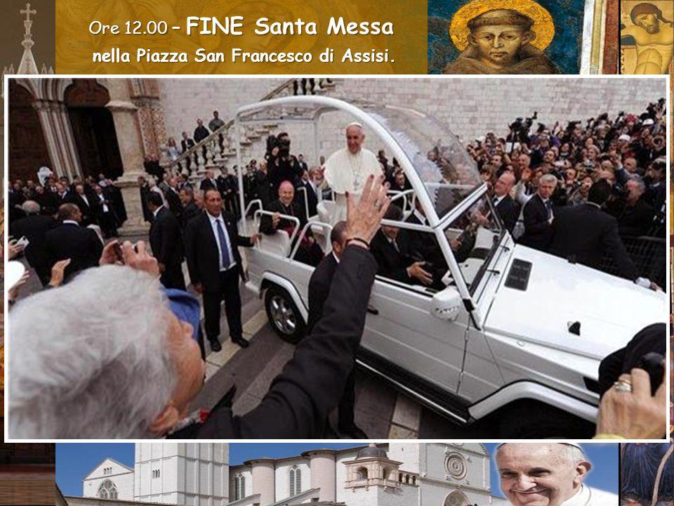 Ci rivolgiamo a te, Francesco, e ti chiediamo: ottienici da Dio il dono che in questo nostro mondo ci sia armonia, pace e rispetto per il Creato.