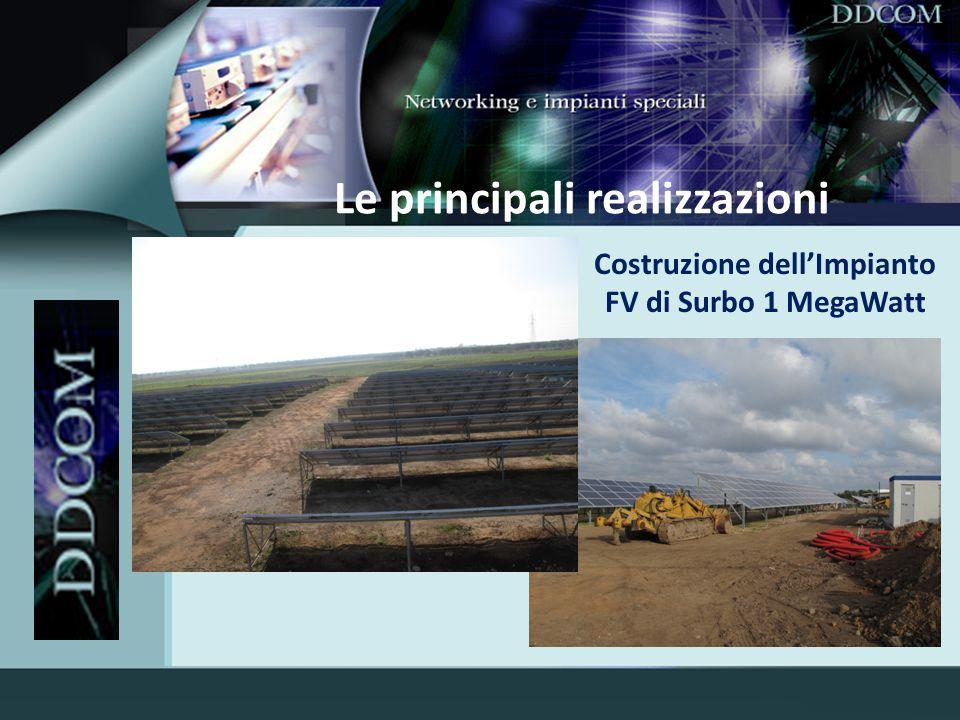 Le principali realizzazioni Progetto GSMR RFI
