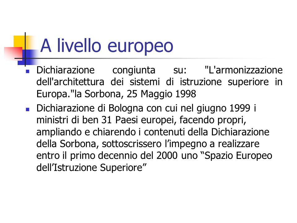 D.M.509/99 Decreto 3 novembre 1999, n.