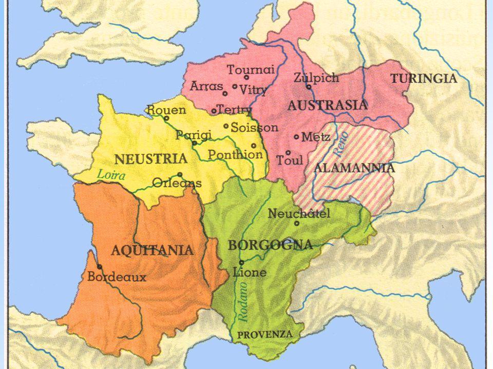 I re fannulloni I sovrani merovingi si dimostrano spesso inetti al governo che abbandonano ai loro ministri.