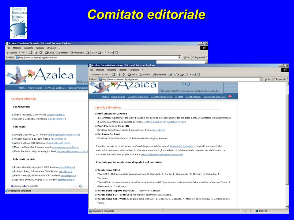 Comitato editoriale
