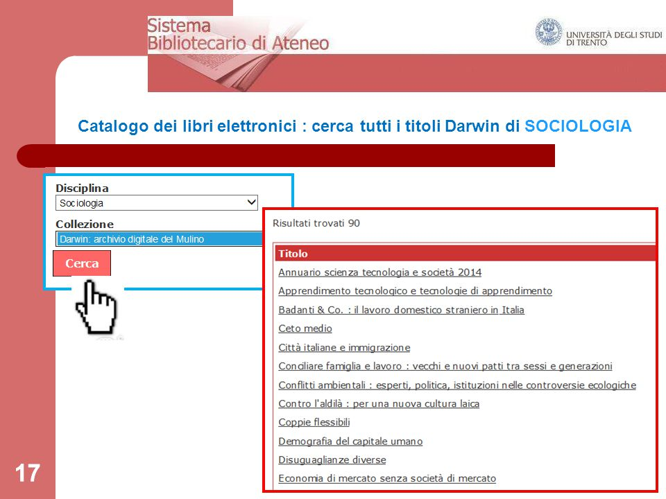 17 Catalogo dei libri elettronici : cerca tutti i titoli Darwin di SOCIOLOGIA