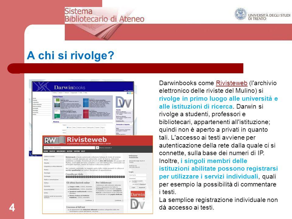 5 L'integrazione tra gli archivi digitali.
