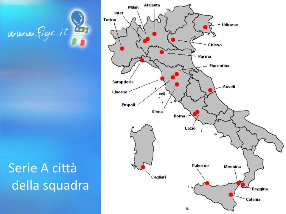 Serie A città della squadra