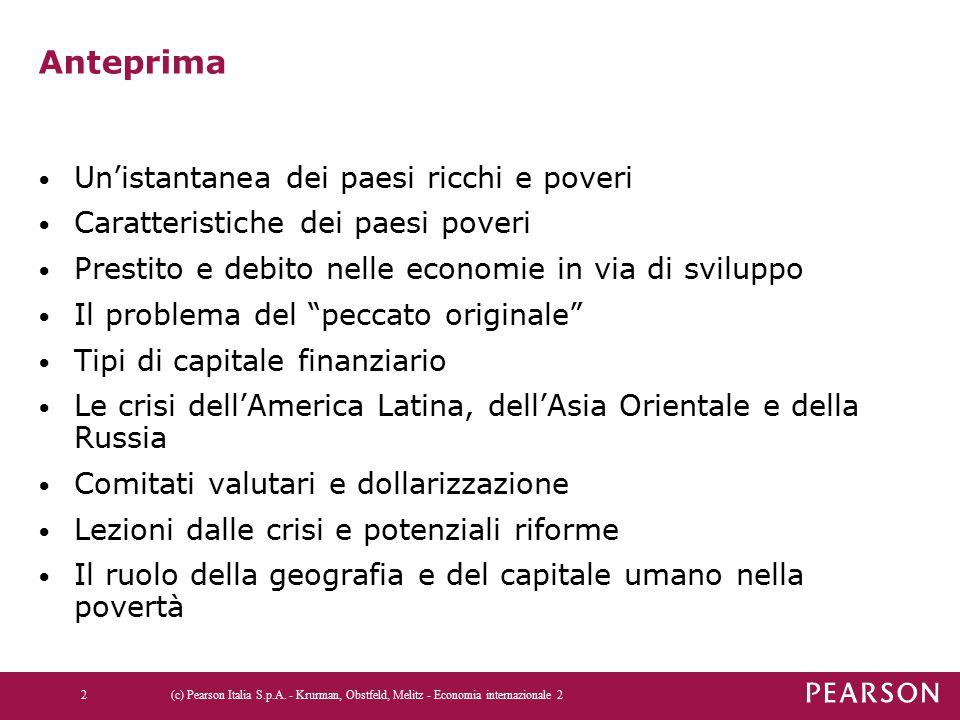 Potenziali riforme Misure preventive: 1.