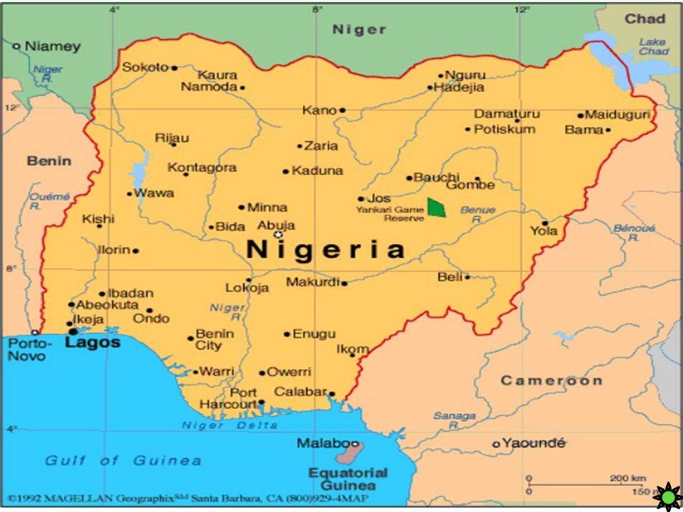 IL TERRITORIO Carta d'identità Superficie: 923.768 km² Popolazione: 149.229.090 abitanti, 161 ab/km² Capitale: Abuja Forma di governo: Repubblica Moneta: Naira