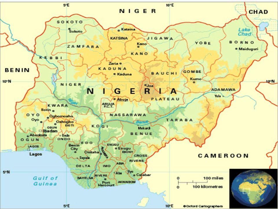 PROBLEMI Guerre interne (cristiani contro musulmani + terrorismo Boko Haram) Carestie ed epidemie (Biafra) Inquinamento