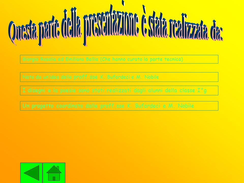 Giorgio Rosolia ed Emiliano Bellia (Che hanno curato la parte tecnica) Nato da un'idea delle proff.sse K.