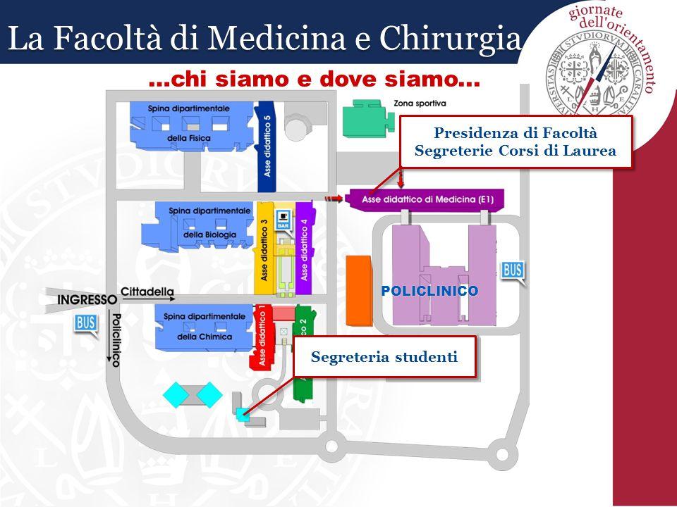 I corsi di laurea della facoltà di medicina sono tutti a numero chiuso.