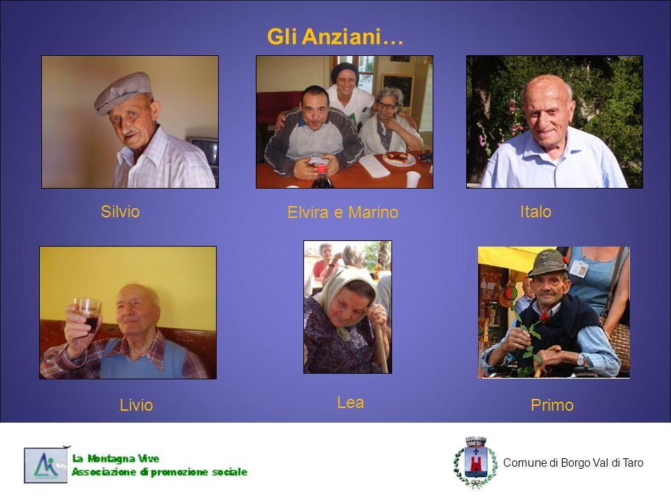 C Comune di Borgo Val di Taro C Silvio Primo Elvira e Marino Italo Livio Lea Gli Anziani…
