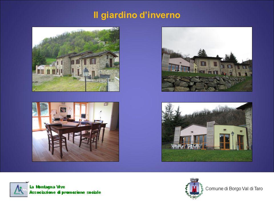 C Comune di Borgo Val di Taro C Il giardino d'inverno