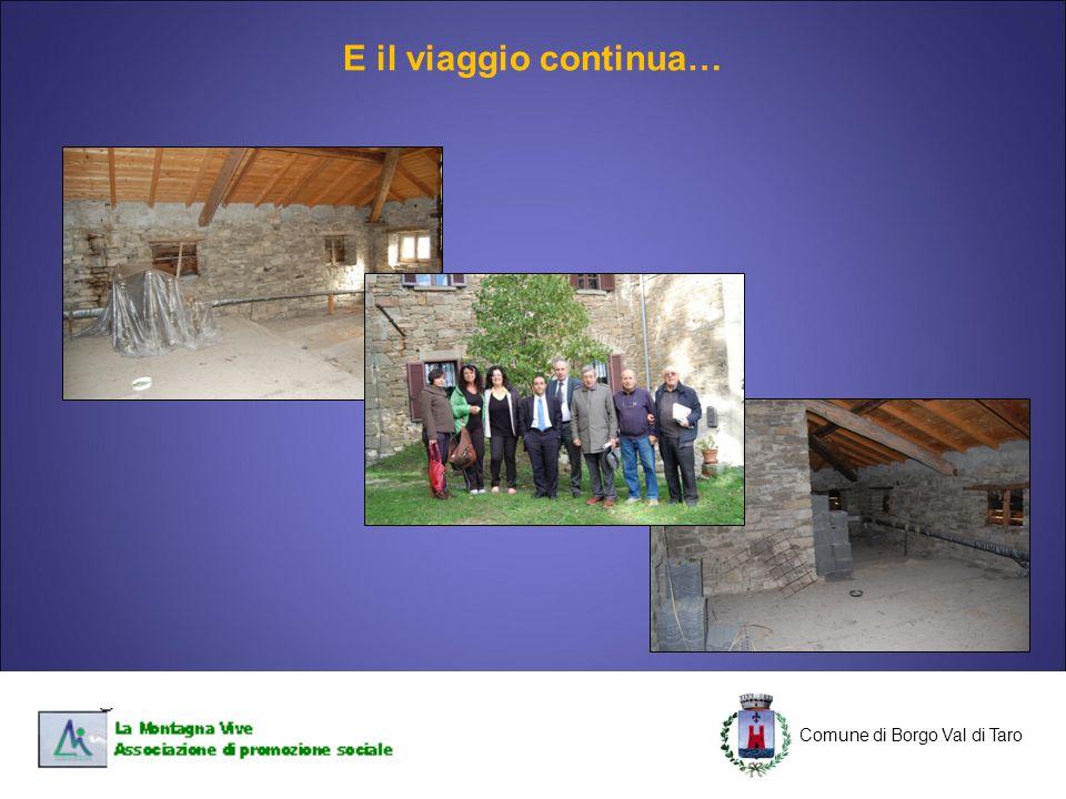 C Comune di Borgo Val di Taro C E il viaggio continua…