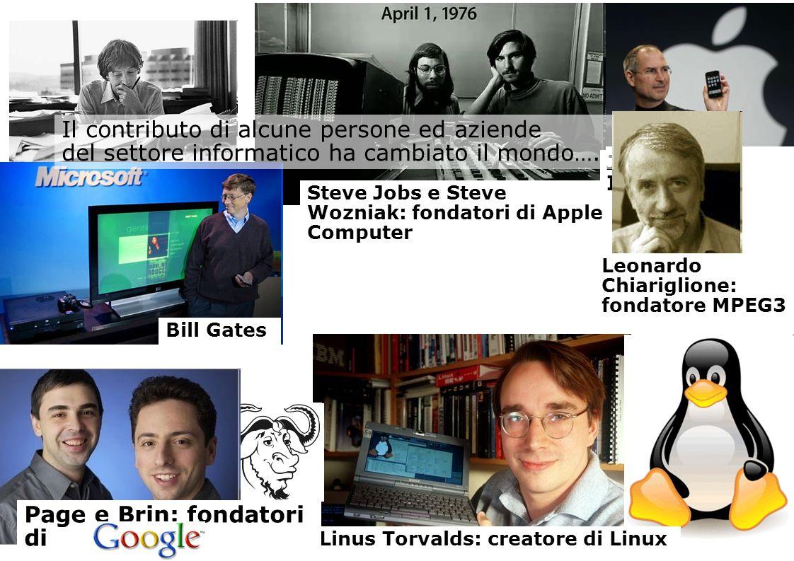 Scuola di Scienze della Natura - www.unito.it/scienzedellanatura Steve Jobs e Steve Wozniak: fondatori di Apple Computer Jobs e IPhone Leonardo Chiari