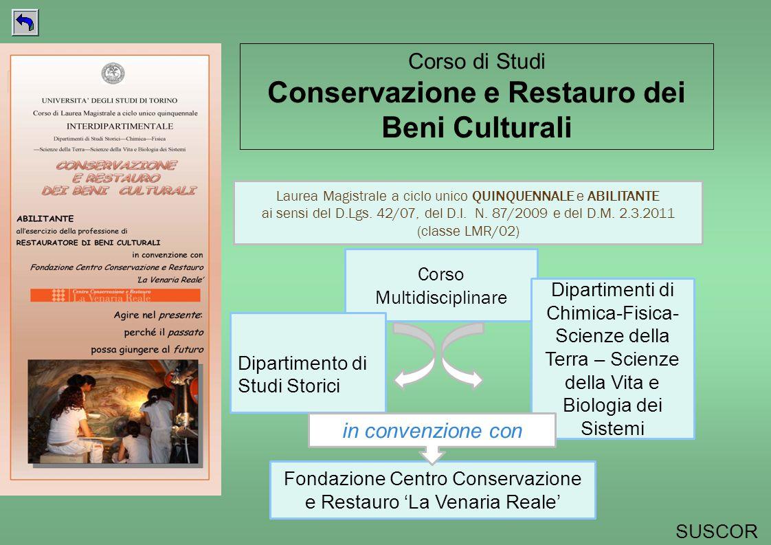 Corso Multidisciplinare Dipartimento di Studi Storici Dipartimenti di Chimica-Fisica- Scienze della Terra – Scienze della Vita e Biologia dei Sistemi