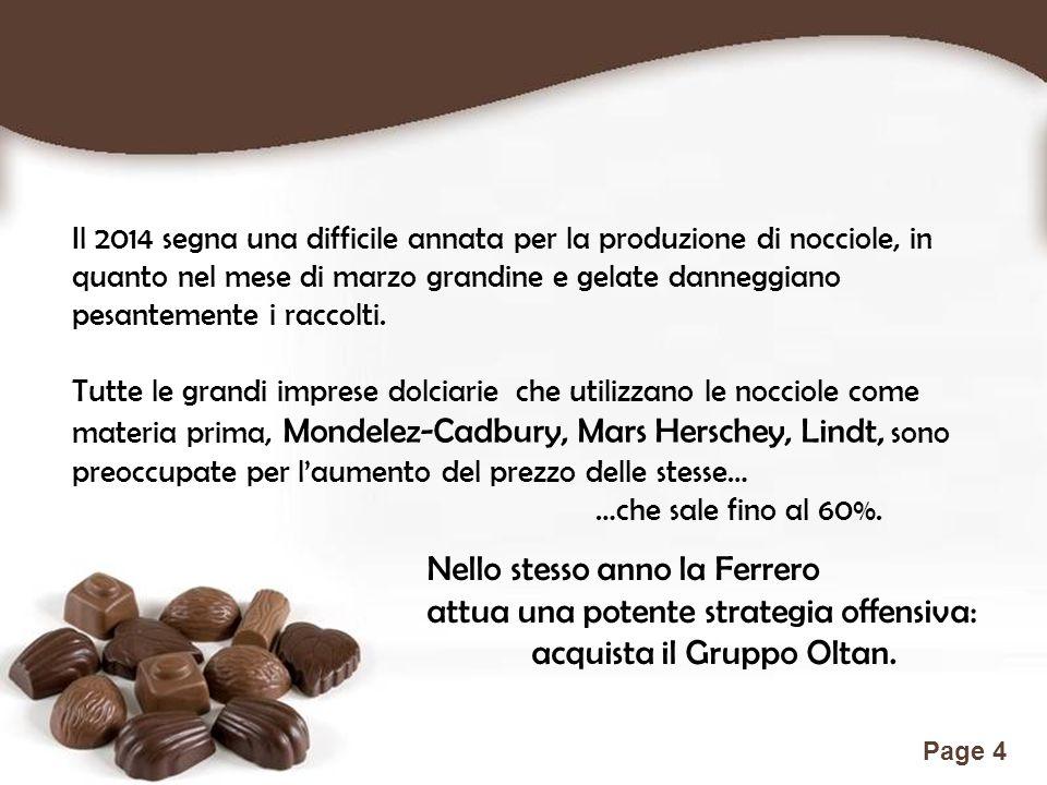 Free Powerpoint Templates Page 15 Prodotti unici, attenzione costante alla qualità, stabilità finanziaria, responsabilità sociale, ambiente di lavoro stimolante sono i fattori di eccellenza di Ferrero.
