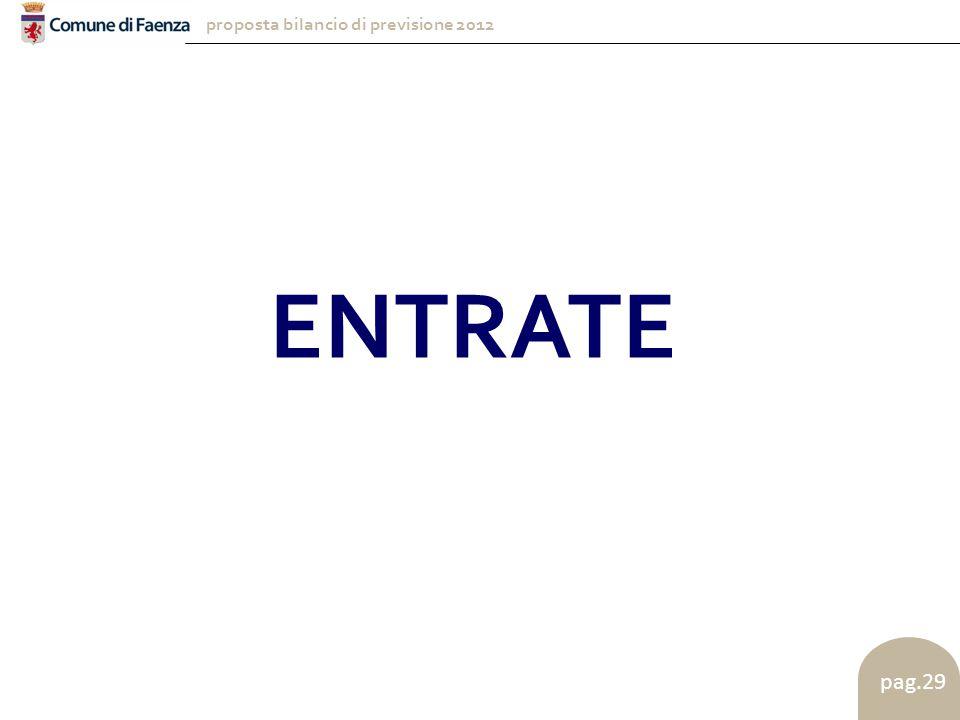 proposta bilancio di previsione 2012 pag.29 ENTRATE