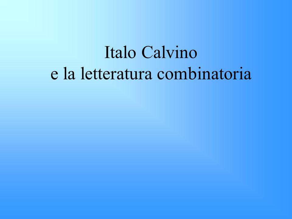 Italo Calvino e la letteratura combinatoria